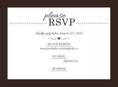Stamps on RSVP envelope   Weddings, Etiquette and Advice