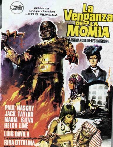 1973 - la venganza de la momia