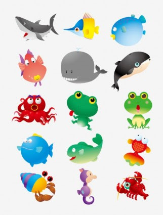 430 Koleksi Gambar Binatang Laut Kartun Gratis Terbaik