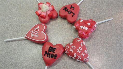 Valentine's Day Heart Cake Pops   YouTube