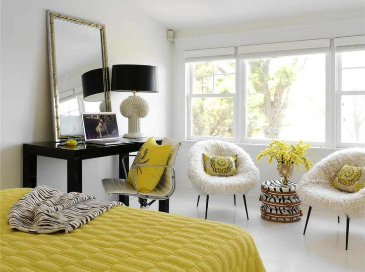 Yellow Color Home Decorating