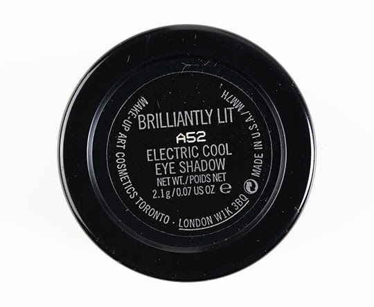 MAC Brilliantly Lit Electric Cool Eyeshadow