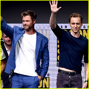 Chris Hemsworth, Tom Hiddleston, & 'Thor' Cast Step Out for Comic-Con Panel!