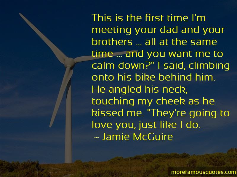 Quotes About Meeting Your Love For The First Time Top 1 Meeting