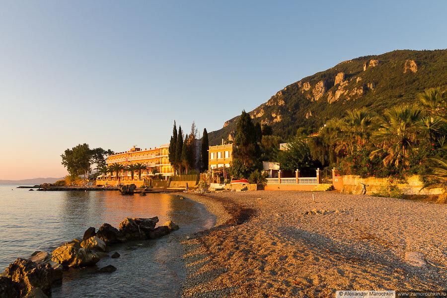 Отель Corfu Maris в Беницесе