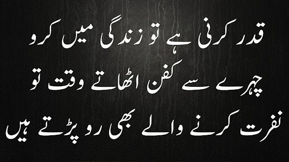 Awesome Life Quotes In Urdu