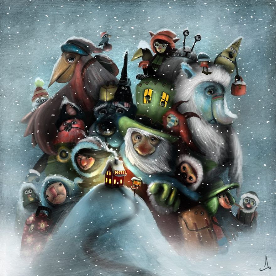 Alexander Jansson illustration fairytale11