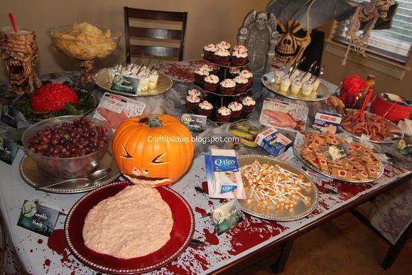 halloween party kids food adult drink ideas creative. Black Bedroom Furniture Sets. Home Design Ideas