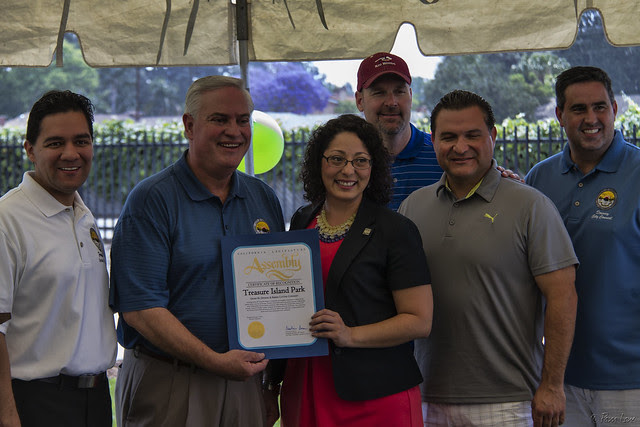 Treasure Island Park re-opening certicate of recognition