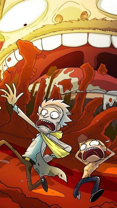 wallpaper iphone rick  morty p   iphone