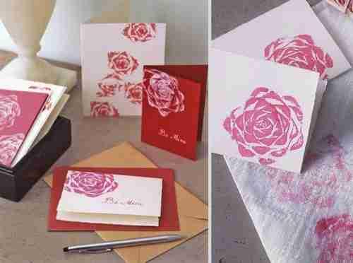 Όμορφες κάρτες με λουλούδια