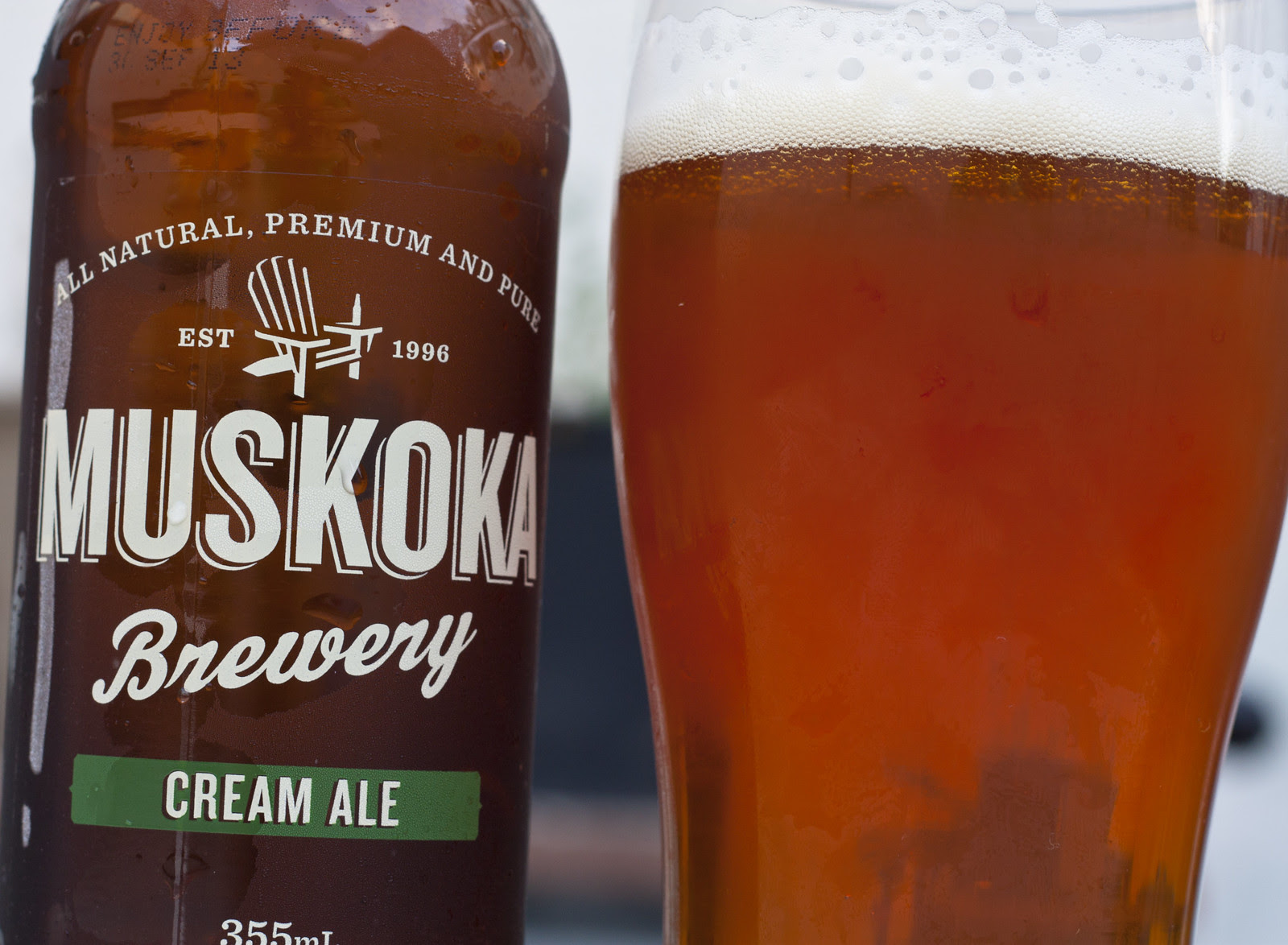 Review: Muskoka Cream Ale by Cody La Bière