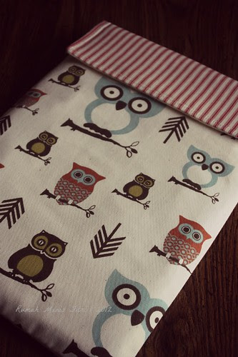 Laptop Case by Fitri D. // Rumah Manis