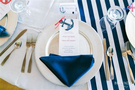 Rachael & Andy?s Super Awesome Nautical Themed Wedding in