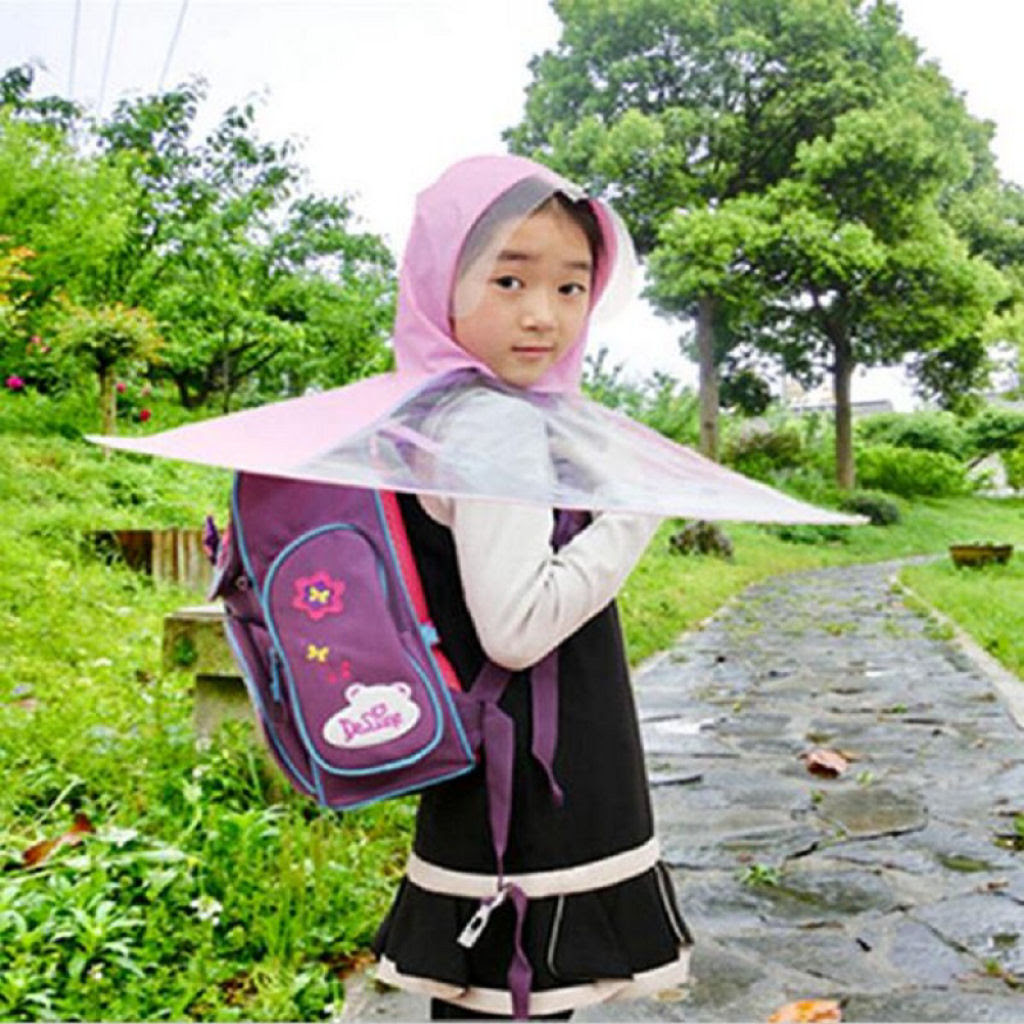 Esta capa-guarda-chuva chinesa é a mais recente inovação para se manter enxuto 07