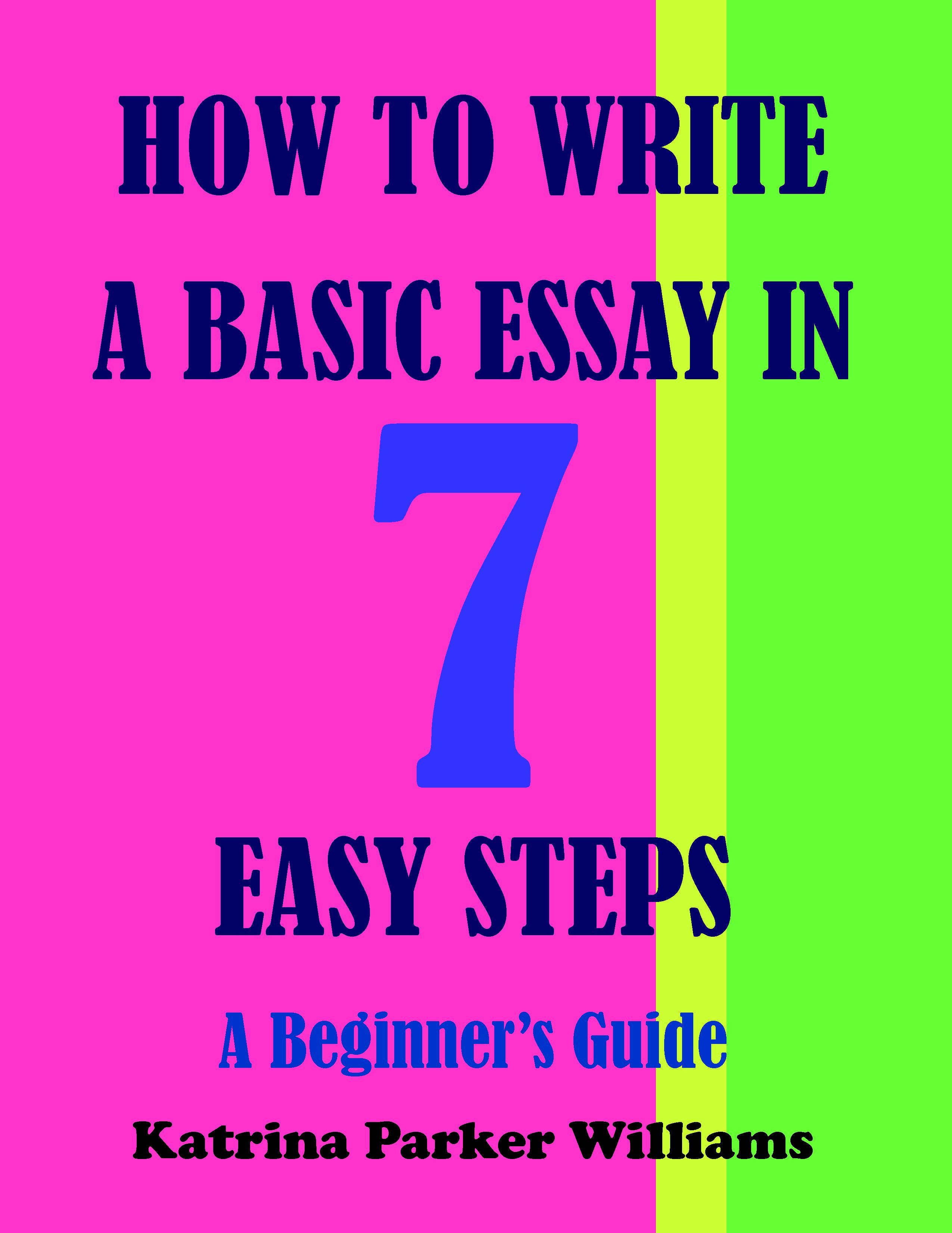 write a short essay on how to keep