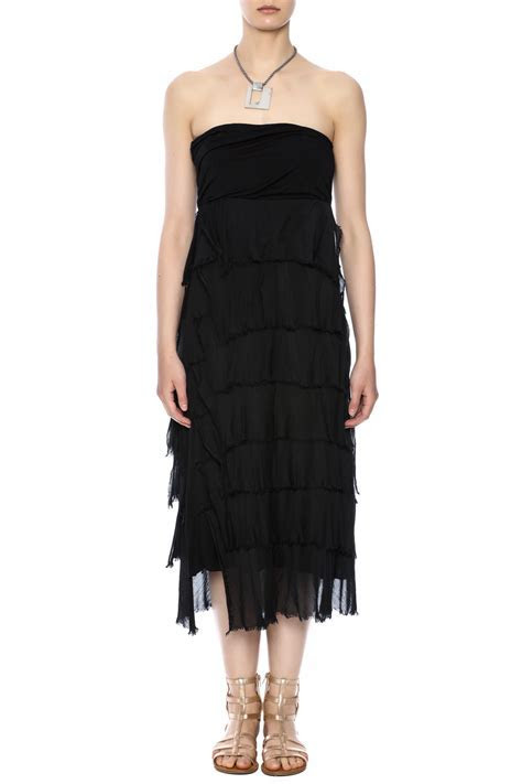 Tempo Paris Tiered Ruffle Skirt Dress from Saratoga by