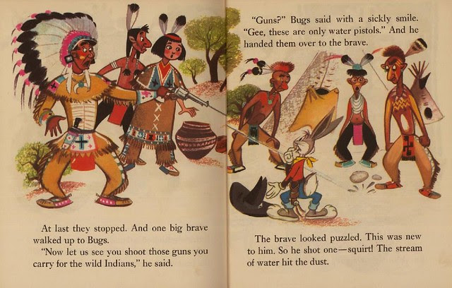Bugs Bunny & the Indians013