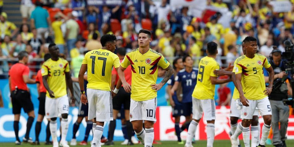 La Tricolor empezó con derrota su debut en el Mundial.  Foto: REUTERS