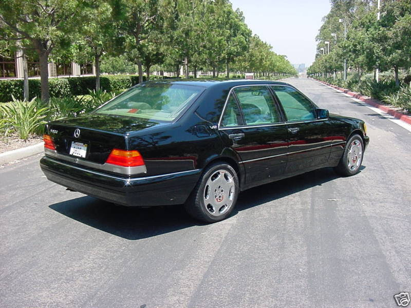 1995 Mercedes S600 Armored | German Cars For Sale Blog