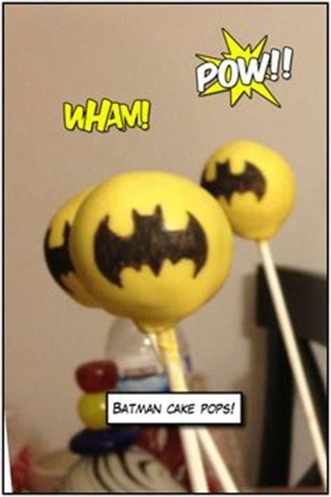 Batman Cake Pops on Pinterest   Batman Cakes, Batman