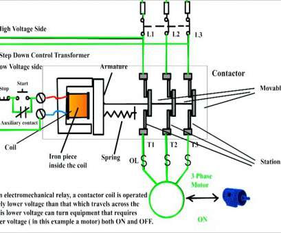 hand off auto switch square d  wiring diagram