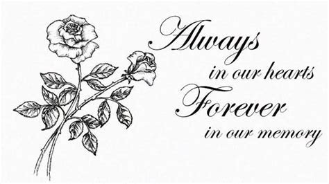 always in our hearts clipart in memory   Clipground
