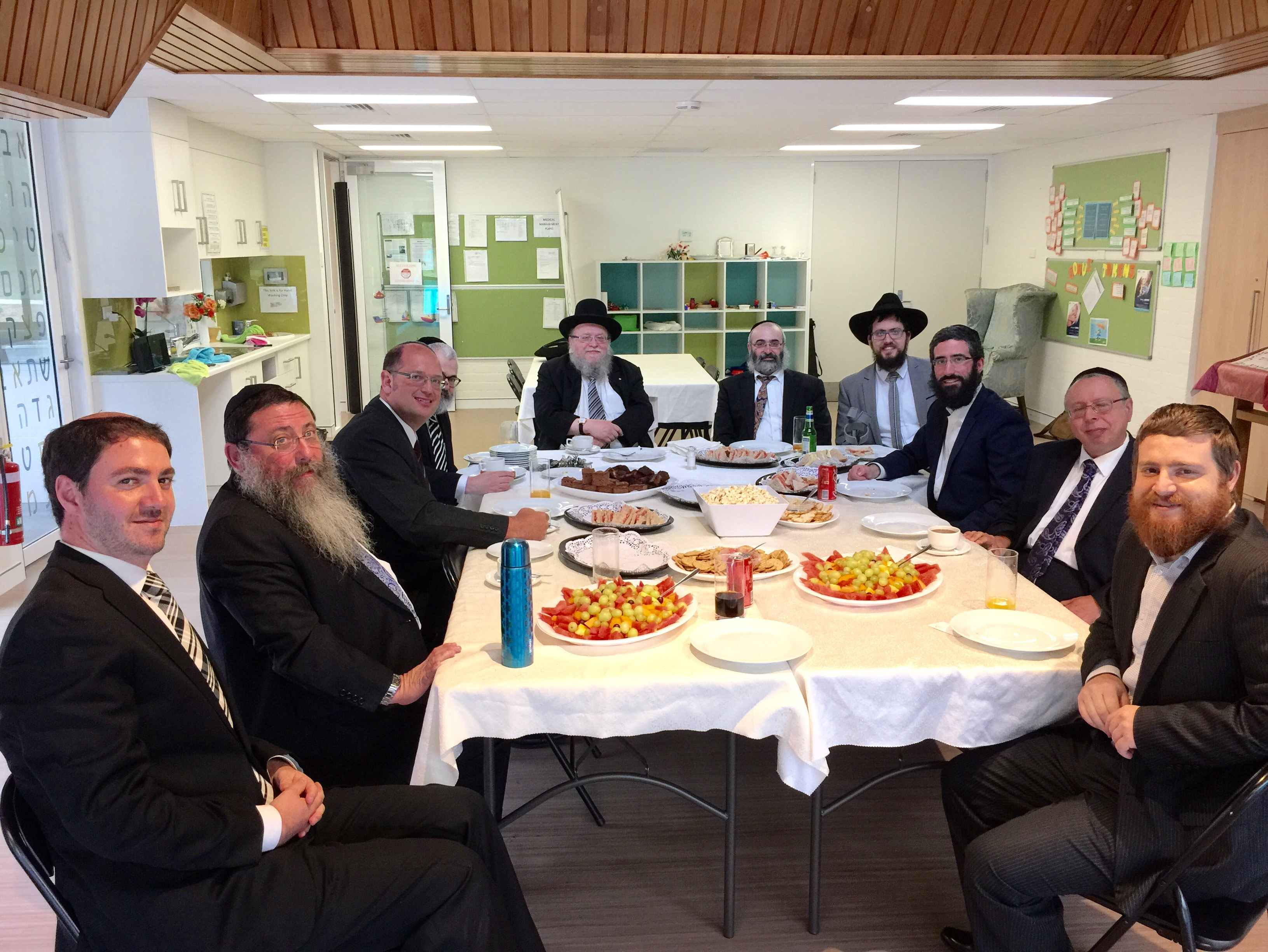 Lunch with Rabbonim in Chabad ACT copy.jpg
