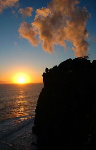 Sunset at Uluwatu, Bali