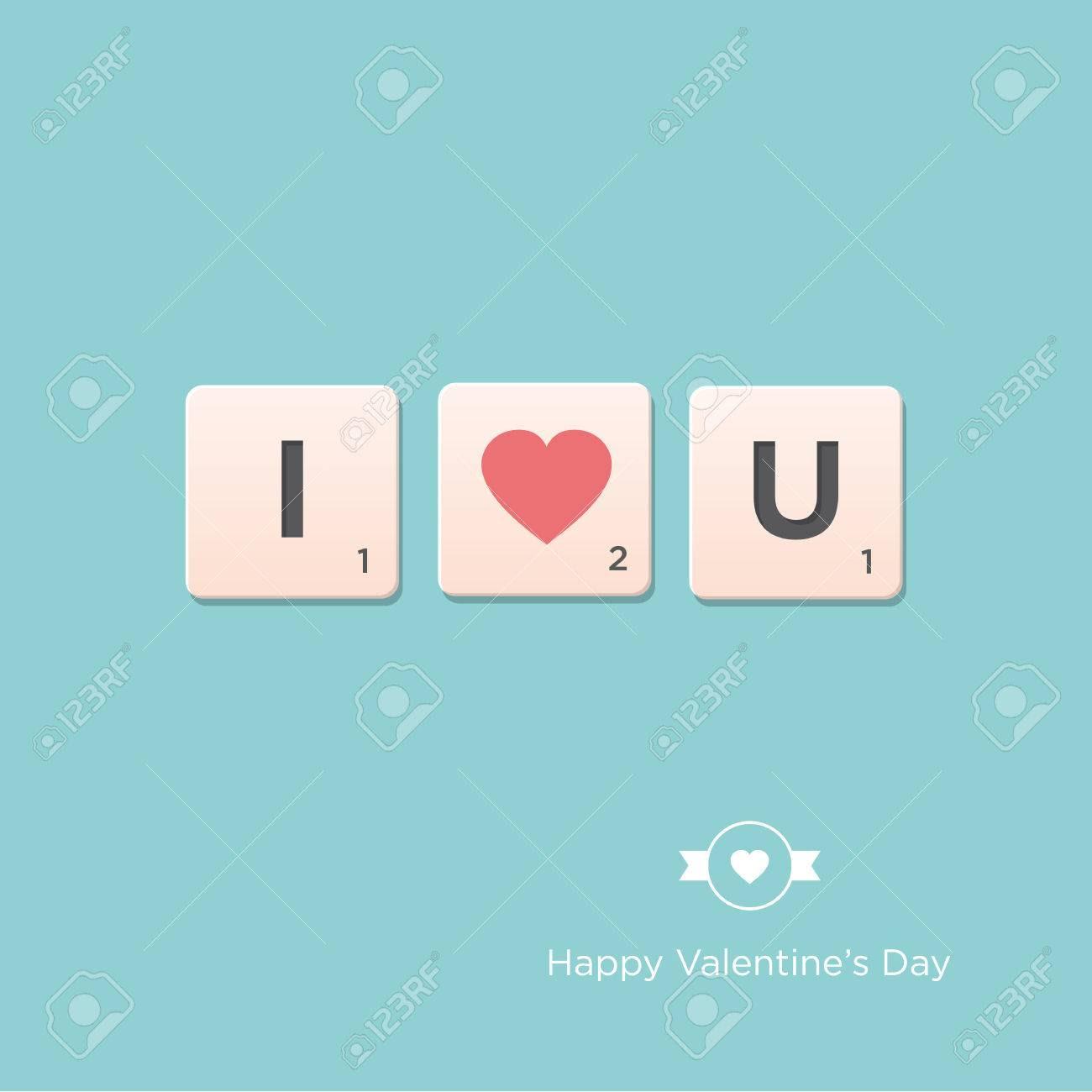 Valentine S Day Card Letter Alphabet Vector Design Editable ...