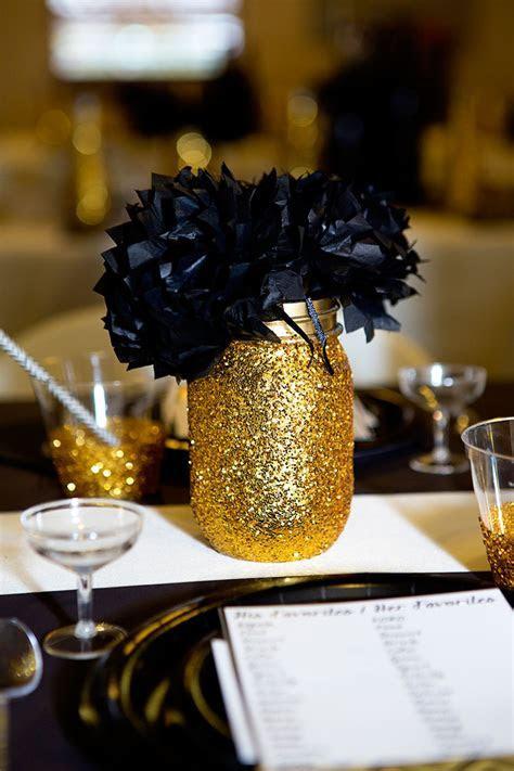Black and Gold Bridal Shower   Lillian Hope Designs