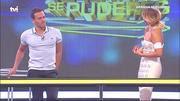 Cristina Ferreira sensual no programa Apanha se puderes