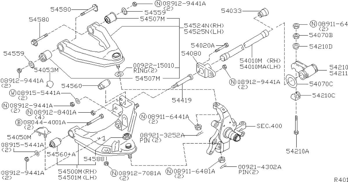 2005 Nissan Murano Parts Diagram - Wiring Diagram