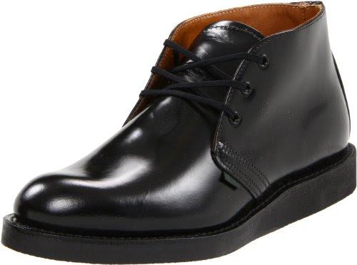 Red Wing Shoes Men's Postman Shoe,Black Chaparral,9 D US