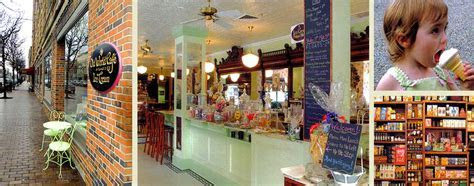 Old World Cafe and Ice Cream   Corning Gaffer District in