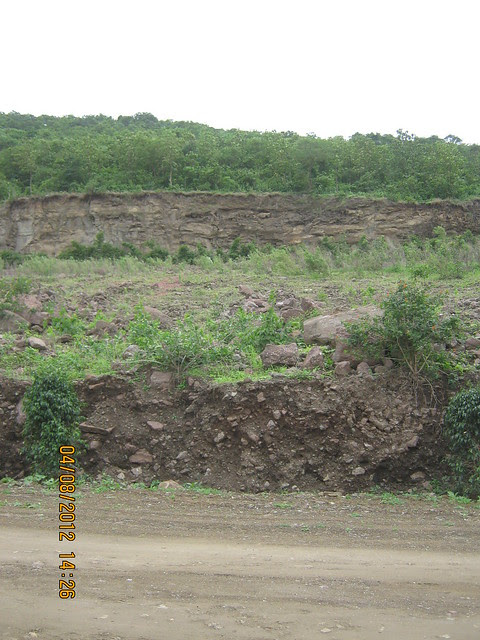 Cut, Demolished & Destroyed Hill of XRBIA Hinjewadi Pune - Nere Dattawadi, on Marunji Road, approx 7 kms from KPIT Cummins at Hinjewadi IT Park - 57