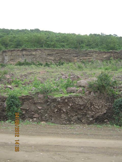 Cut, Demolished & Destroyed Hill of XRBIA Hinjewadi Pune - Nere Dattawadi, on Marunji Road, approx 7 kms from KPIT Cummins at Hinjewadi IT Park - 57