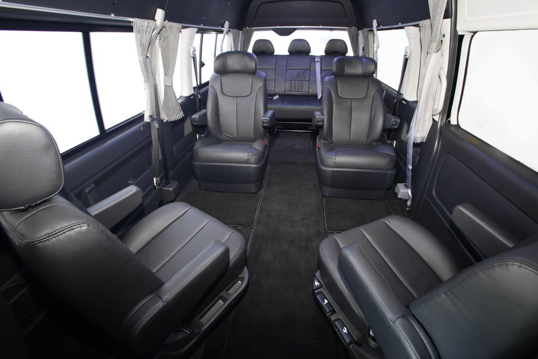 Modifikasi Interior Mobil Toyota Hiace Terbaru Tahun Ini Dunia