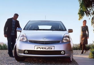 Prius from the front
