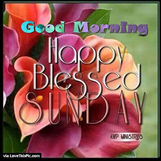 Good Morning Blessed Sunday Image Archidev