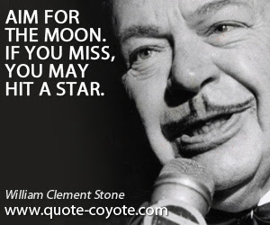 William Clement Stone Quotes Quote Coyote