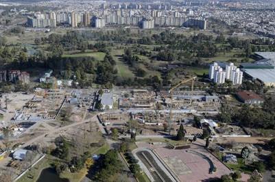Villa Olímpica para los Juegos de la Juventud 2018. Foto: NESTOR GARCIA