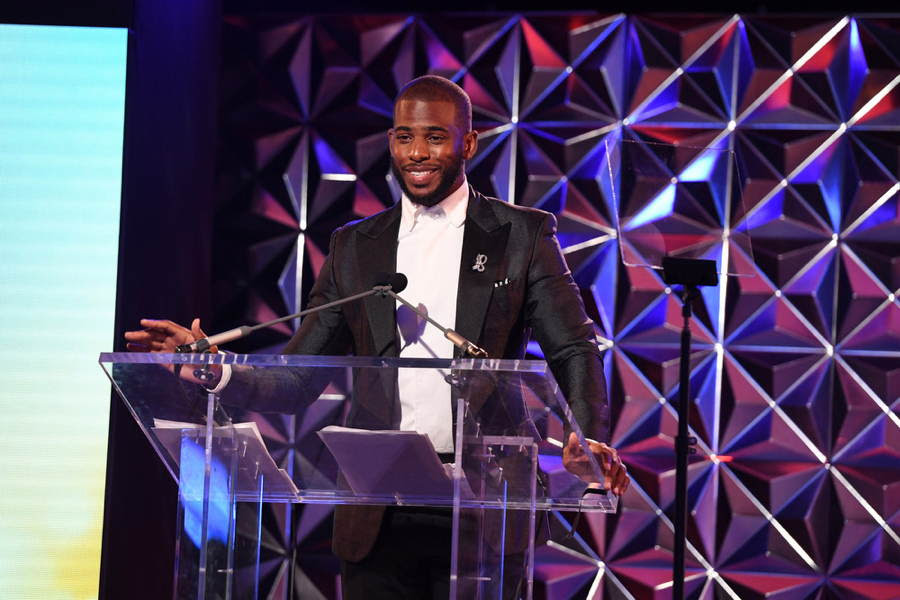 Chris Paul Is Named The Sports Humanitarian Of The Year