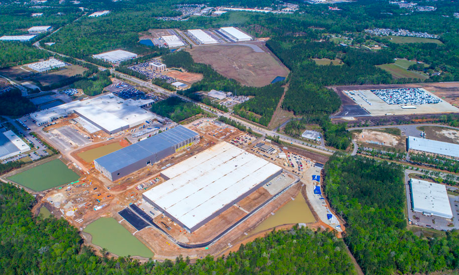 Sanders Hyland | Mercedes Benz Plant expansion in South ...