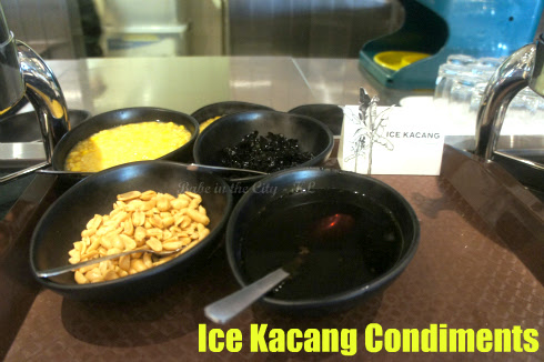Ice Kacang Condiments