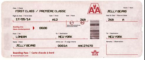 Make a novelty airline ticket for fun - HotUKDeals
