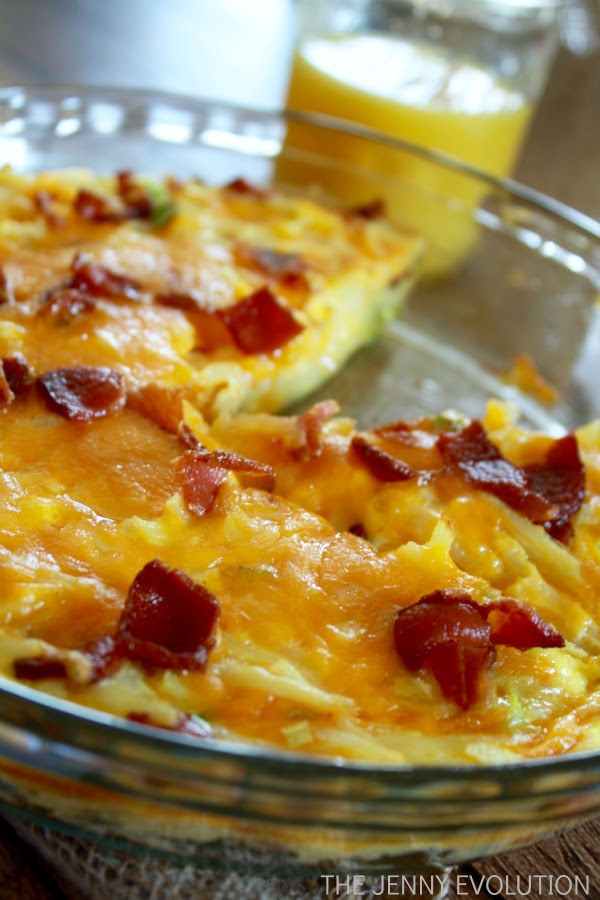 Weekend Breakfast Casserole Recipe | The Jenny Evolution