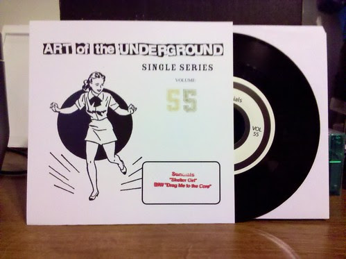 "Sundials - Shelter Girl 7"" /350"