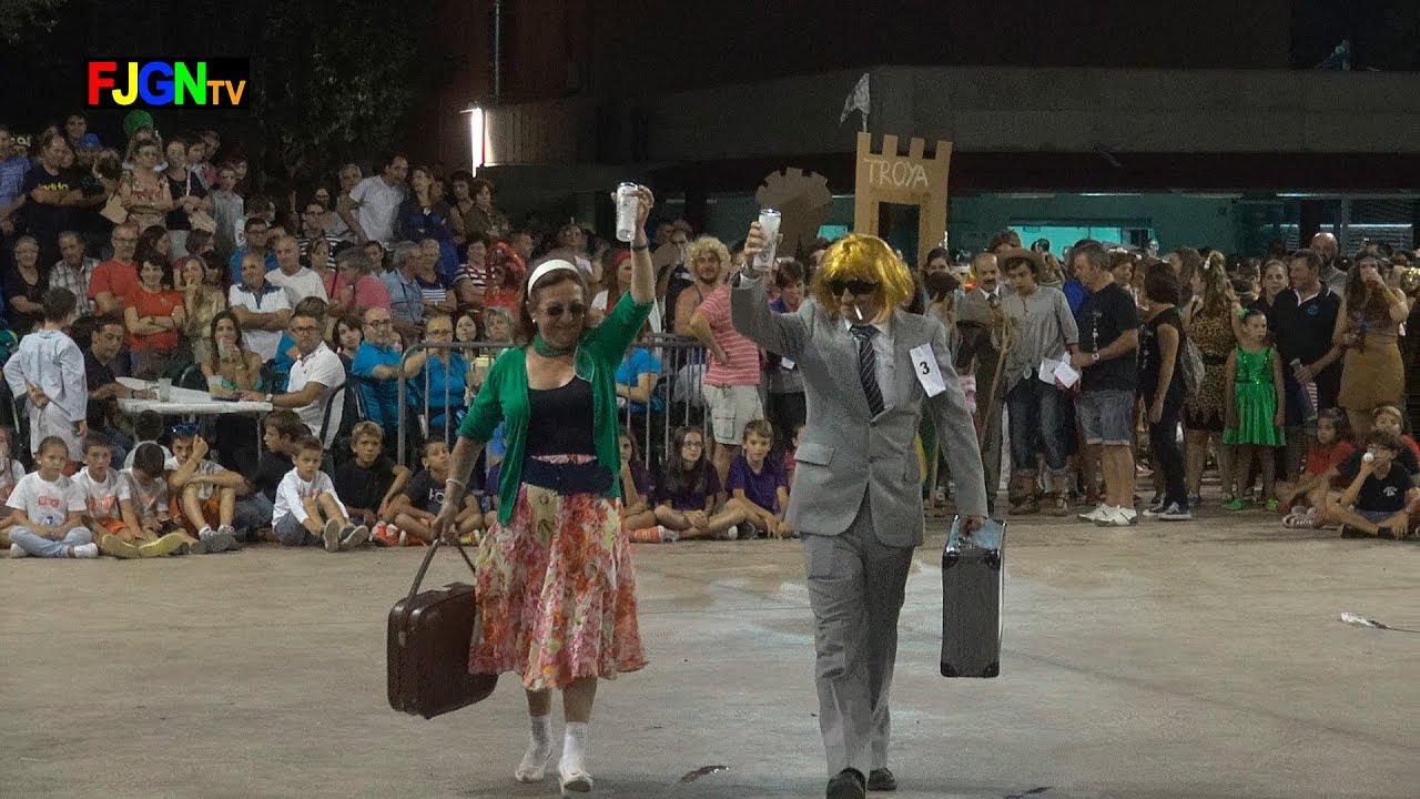 03. ANEM DE VIATGE - Disfraces - Festa La Vila 2014 - La Vilavella