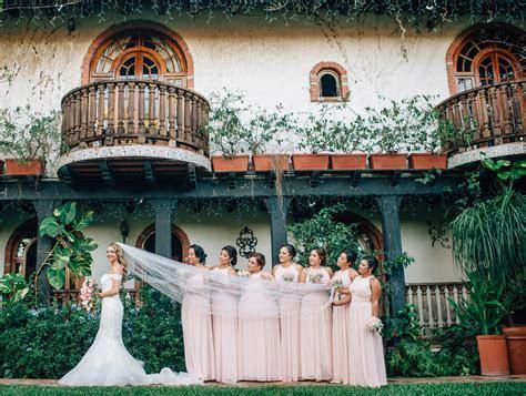 Destination Wedding in Puerto Rico. Lovely outdoor garden